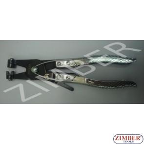 Клещи за скоби водни с-ния с възвратна пружина-ZIMBER ( ZR-19CPSJH)