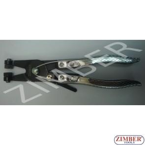 Клещи за скоби водни с-ния с възвратна пружина-ZIMBER (ZR-19CPSJHPHV)