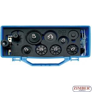 Комплект адаптори за обезвъздушаване на спирачни системи- Audi, BMW, Ford, Honda, Nissan, Opel, VW. 8316 - BGS technic.