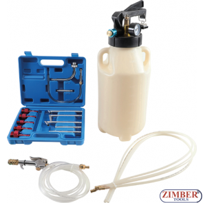 Пневматичeн двупосочен комплект за пълнене и източване на масло в скоростна кутия ATF / 8775 - BGS-technic.