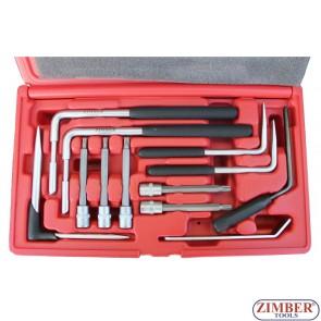 К-т инструменти за въздушна възглавница AUDI,VW PASSAT, JETA, GOLF, BMW, ZR-36ABRT02 - ZIMBER-TOOLS