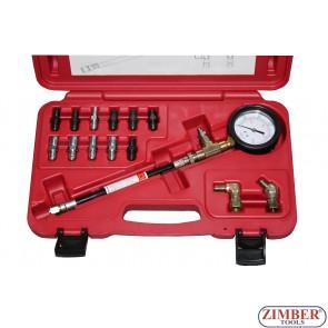 Манометър за измерване налягането на спирачната помпа и помпата на съединителя, ZR-36BCMC - ZIMBER-TOOLS.