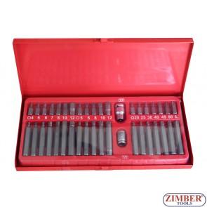 Битове накрайници к-т 40 части, ZT-01131 - SMANN TOOLS