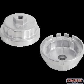 Чашка за маслен филтър 64.5mm.14 ъгли, Lexus, Toyota- 8761- BGS technic