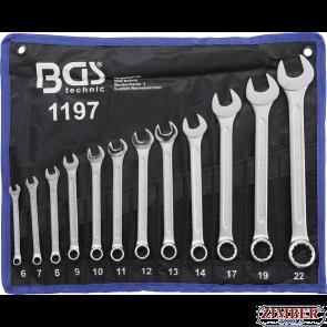 Ключове звездогаечни к-т от  6 - 22 mm | 12 бр. 1197- BGS technic.