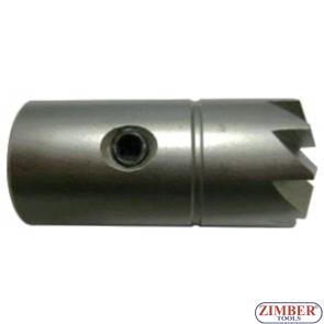 Фрезер (конусен) за почистване гнездата на дизелови дюзи-1бр - 17mm. ZR-41FR04 - ZIMBER-TOOLS.