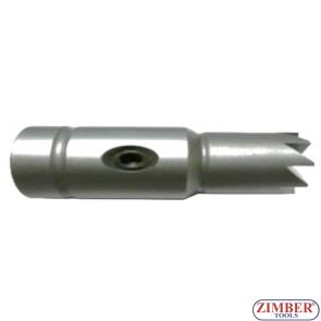 Фрезер за почистване гнездата на дизелови дюзи 1бр - 18x21mm. ZR-41FR06 - ZIMBER-TOOLS.