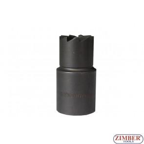 Фрезер за почистване гнездата на дизелови дюзи (прав)1бр 17x20mm. ZR-41FR13 - ZIMBER-TOOLS.