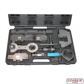 К-т за зацепване на двигатели BMW  M40, M43,  M42, M44, M50, M52, M52TU, M54, M56.( E30 To E85 ) - ZIMBER-TOOLS