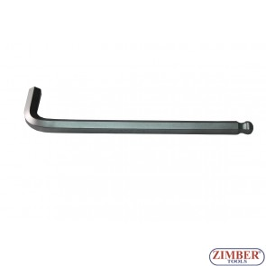 L-Type Wrench extra long internal Hexagon / internal Hexagon with Ball Head 12 mm (76512L) - FORCE