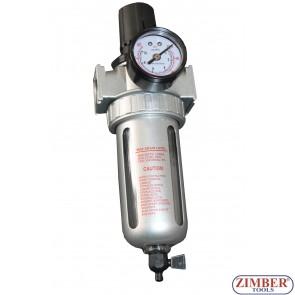 Пневматичен регулатор (подготвителна група)  - ZR-11FRS12 - ZIMBER TOOLS