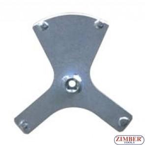 Ключ за капачкa на бензинова помпа /резервоар/ BMW- Код двигател:N45, N54, N63, N74 - ZR-36FTLRI03 - ZIMBER TOOLS