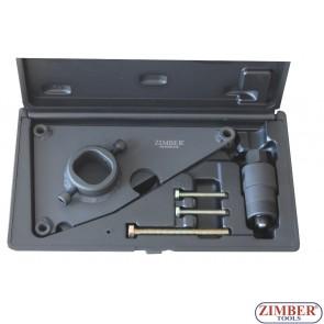 Инструмент за демонтаж на зъбно колело на горивна помпа високо налягане за HYUNDAI и KIA 1.1, 1.4, 1.6 и 1.7 (дизелови двиг. с верига) - ZR-36ETTS283 - ZIMBER TOOLS.