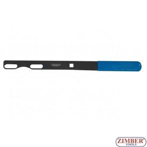 Инструмент за фиксиране на главина при демонтаж на гайките-  ZR-36WHHT - ZIMBER TOOLS.