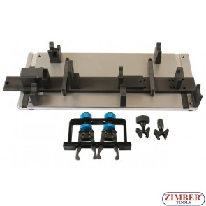 К-т за монтаж на разпределителни валове на VW,AUDI,PORSCHE TDI 2.7,3.0,4.0 групата 6 и 8 цил.TDI двигатели-ZT-04A1030-SMANN TOOLS