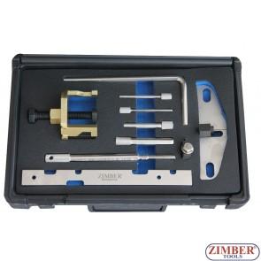 К-т фиксатори за зацепване на двигатели Ford 1.4, 1.6tdci 1.8dt/tdci/tddi, 2.0tdci - ZR-36ETTS256-ZIMBER TOOLS