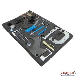 К-т  фиксатори за зацепване на двигатели OPEL, RENAULT,  NISSAN, ZR-36ETTS140 - ZIMBER - TOOLS