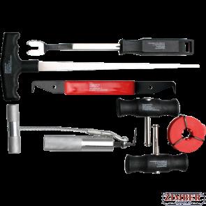 К-т инструменти за сваляне на автостъкла 7 части, 60300- Krftmann.BGS technic