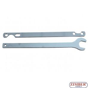 К-т ключове за Visco Шайбите на вентилатори BMW - ZT-04A4023-1 - SMANN TOOLS