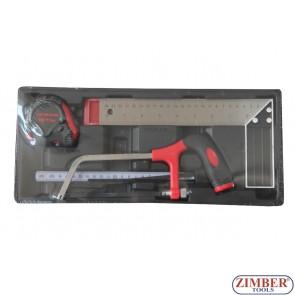 К-т с измервателни инструменти. ZT-00804 - SMANN TOOLS.