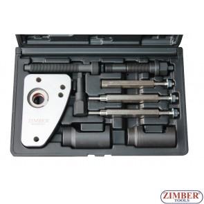 К-т за изваждане на инжектори PSA 2.0 HDI Peugeot, Citroen и PSA 2.0 JTD Fiat, Lancia- ZR-36ETTS128 - ZIMBER-PROFESSIONAL