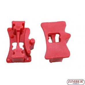 К-т за фиксиране на разпределителните валове за VAG Audi Seat Skoda VW 1.0 - 3 цил. T10476 - OEM T10476 - ZR-36CSLT - ZIMBER TOOLS.