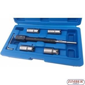 К-т за почистване леглата на дизелови дюзи Common Rail - ZT-04A3001 - SMANN PROFESSIONAL