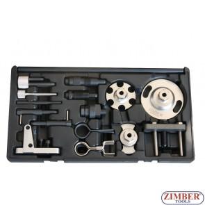К-т за зацепване на дизелови двигатели VAG 2.7, 3.0TDi V6, 4.0, 4.2TDi V8  - ZR-36ETTS224 - ZIMBER TOOLS