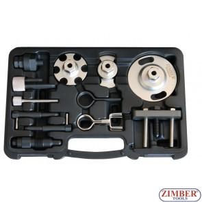 К-т за зацепване на дизелови двигатели VAG 2.7D, 3.0D TDi V6, 4.0D, 4.2D TDi V8 CHAIN DRIVE- HP PUMP , ZR-36DES- ZIMBER TOOLS