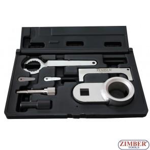 К-т за зацепване на дизелови двигатели VW SDI, TDI CR 2.4, 2.5 Diesel, ZR-36ETTS129 - ZIMBER TOOLS