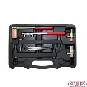 К-т за зацепване на бензинови двигатели - Jaguar, Land Rover 3.2, 3.5, 4.0, 4.2, 4.4 V8 - (с верижно задвижване) ZR-36ETTS74 -ZIMBER TOOLS.-drive-zr-36etts74-zimber-tools