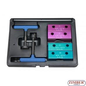 К-т за зацепване на двигатели TWIN SPARK ALFA ROMEO - 1.4, 1.6, 1.8 и 2.0L 16V, ZR-36ETTS37  - ZIMBER-TOOLS