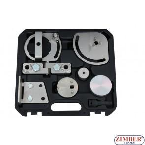 К-т за зацепване на двигатели  Landrover, Jaguar, Volvo S80, XC90, XC60, XC70 3.0T, 3.2. T6 - ZR-36ETTS162-ZIMBER TOOLS.