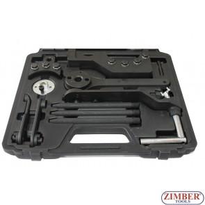 Комплект за зацепване на двигател на VW TOUAREG. TRANSPORTER T5. VW 2.5/4.9D/TDI PD  ZR-36ETTK1 - ZIMBER-TOOLS