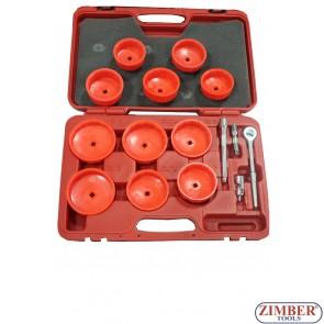 К-т чашки за маслен филтър 16 части, ZR-36OFW16 - ZIMBER TOOLS.