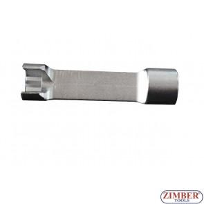 Ключ 14mm за монтаж демонтаж на (горивни) инжекторни тръбопроводи за, Mercedes-Benz Sprinter - ZR-36ILS3814 - ZIMBER TOOLS