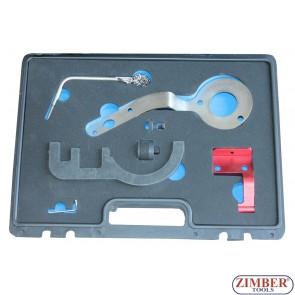 Комплект инструменти за зацепване на двигатели BMW / Mini 1,5 литра 3 цилиндъра (B37) и 2,0 литра 4 цилиндъра (B47) Дизелови двигатели - ZT-04A2376D - SMANN TOOLS.