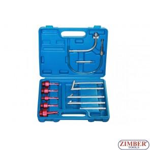 Комплект накрайници за смяна на масло на скоростни кутии 13-части  - ZT-04B1093 - SMANN TOOLS