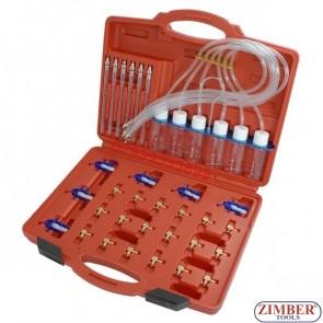 Комплект за тестване на дюзи - диагностика на Common Rail 6 инжектори, ZR-36FMCRAS - ZIMBER-TOOLS.
