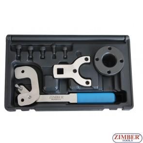 Комплект за зацепване на дизелов двигател верижно задвижване на Alfa Romeo, Ford, PSA, Suzuki, Vauxhall/Opel 1.3D 16v - ZR-36ETTS251 - ZIMBER TOOLS.
