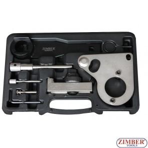 Комплект за зацепване на дизелов двигател верижно задвижване на Renault, Nissan, Vauxhall/Opel Diesel 2.0, 2.3 dCi, CDTi-M9R/M9T - ZR-36ETTS157 - ZIMBER TOOLS