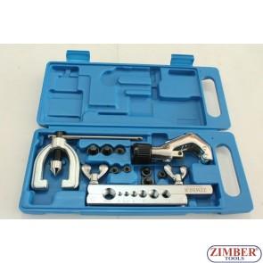 Конусна дъска за ремонт на спирачни тръбички (с тръборез)  ZR-22FTSD04 - ZIMBER TOOLS.