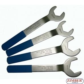 К-т ключове за вентилатори 4 части 32mm, 36mm, 41mm, 46mm - ZIMBER - TOOLS (ZR-36FHWS04)