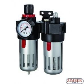 Пневматичен регулатор с филтър двоен (подготвителна група)  - AFRL80.