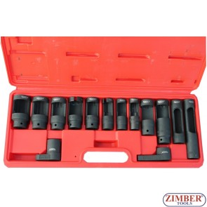 Вложки за дюзи, датчици, ламбда сонди и инжектори к-т (ZR-36OSWS14) - ZIMBER-TOOLS