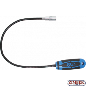 Гъвкав професионален магнит с LED осветление - 600 mm- 1.5 kg (3187) - BGS technic