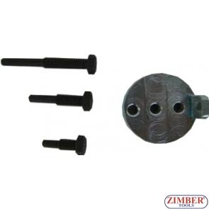 Инструмент за монтаж и демонтаж на еластични канални ремъци  BMW / Chrysler / Citroen / Fiat / Ford / Iveco / Mazda / Mercedes / Peugeot / Volvo,4-бр- ZR-36MTSFMRB - ZIMBER TOOLS