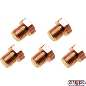 Пробки за картер M13x 1.5 mm 5 бр. (126-SM13) - BGS technic