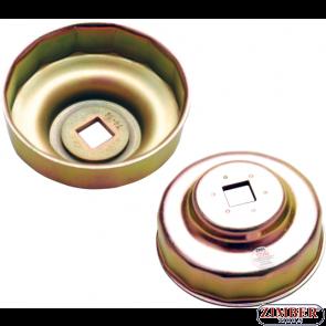 Чашка за маслен филтър Ø 74 mm x14  за BENZ, BMW, AUDI,VW, OPEL (1043) - BGS technic