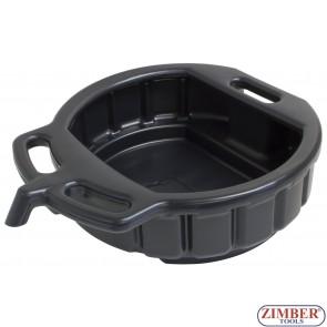 Вана за източване на масло 16 литра - ZR-36WOS - ZIMBER-TOOLS